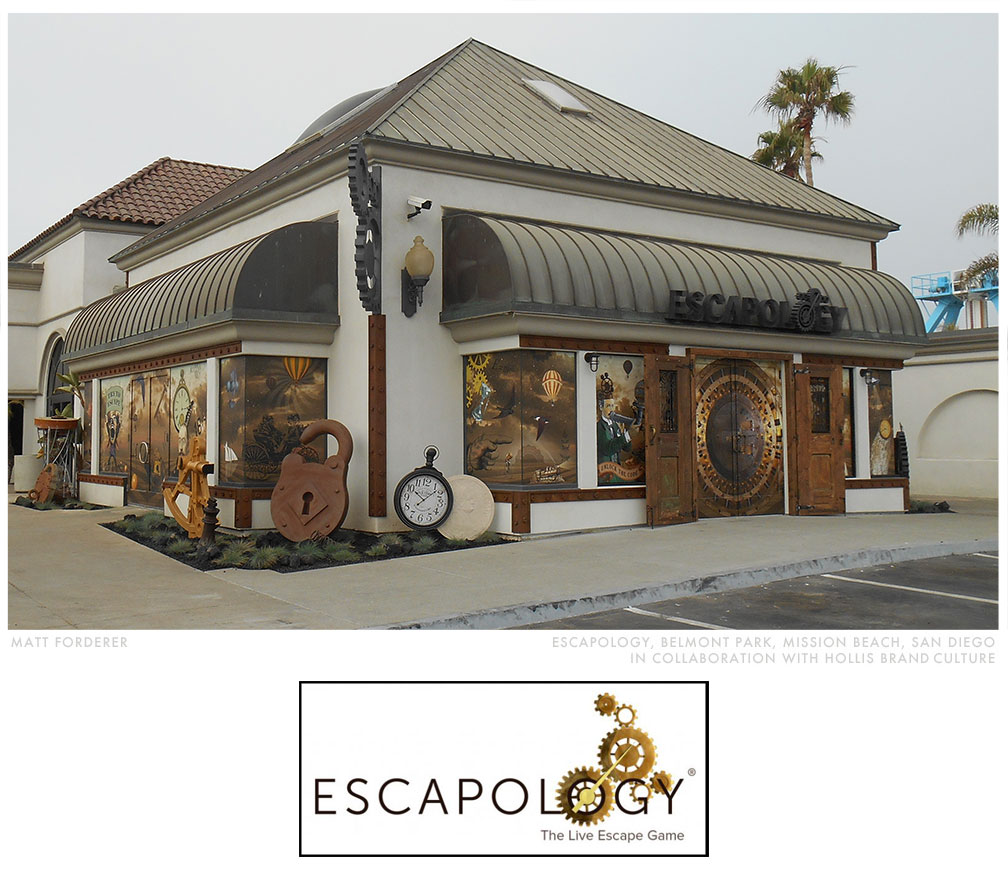 Escapology Mural, in collaboration with Hollis Brand Culture