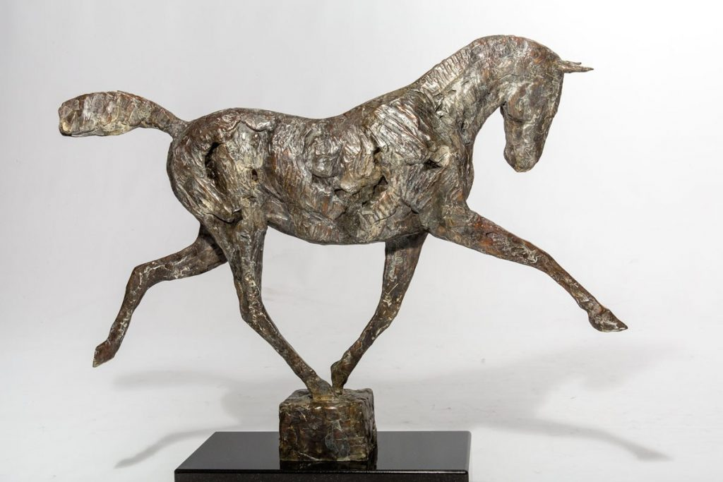 """Young Horse Running,"" by Mark Edward Adams"